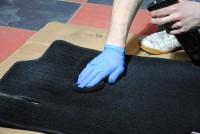 Barwienie dywaników Autobrite Black Dye
